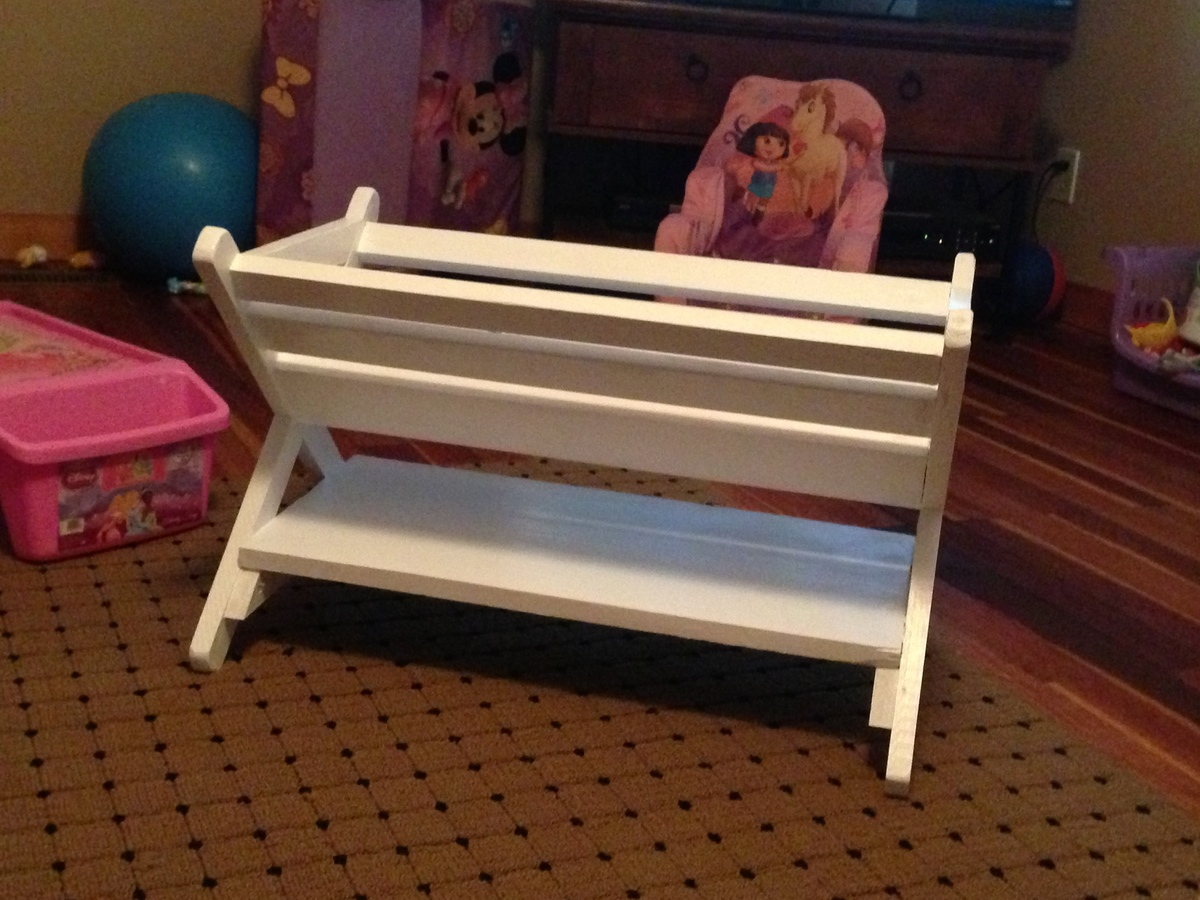 Ana White | X Book Caddy - DIY Projects