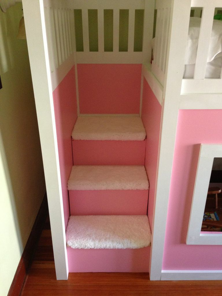 Playhouse Loft Bed With Stairs Ana White