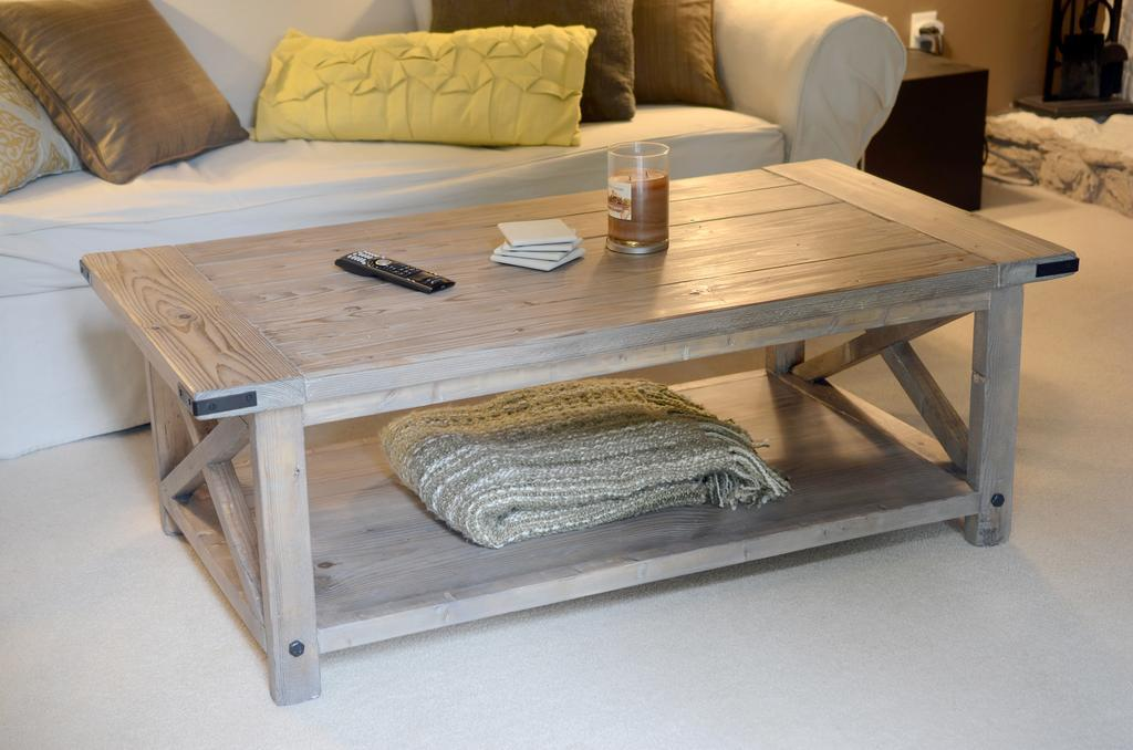 White Rustic Coffee Table Zab Living - White Rustic Coffee Table CoffeTable