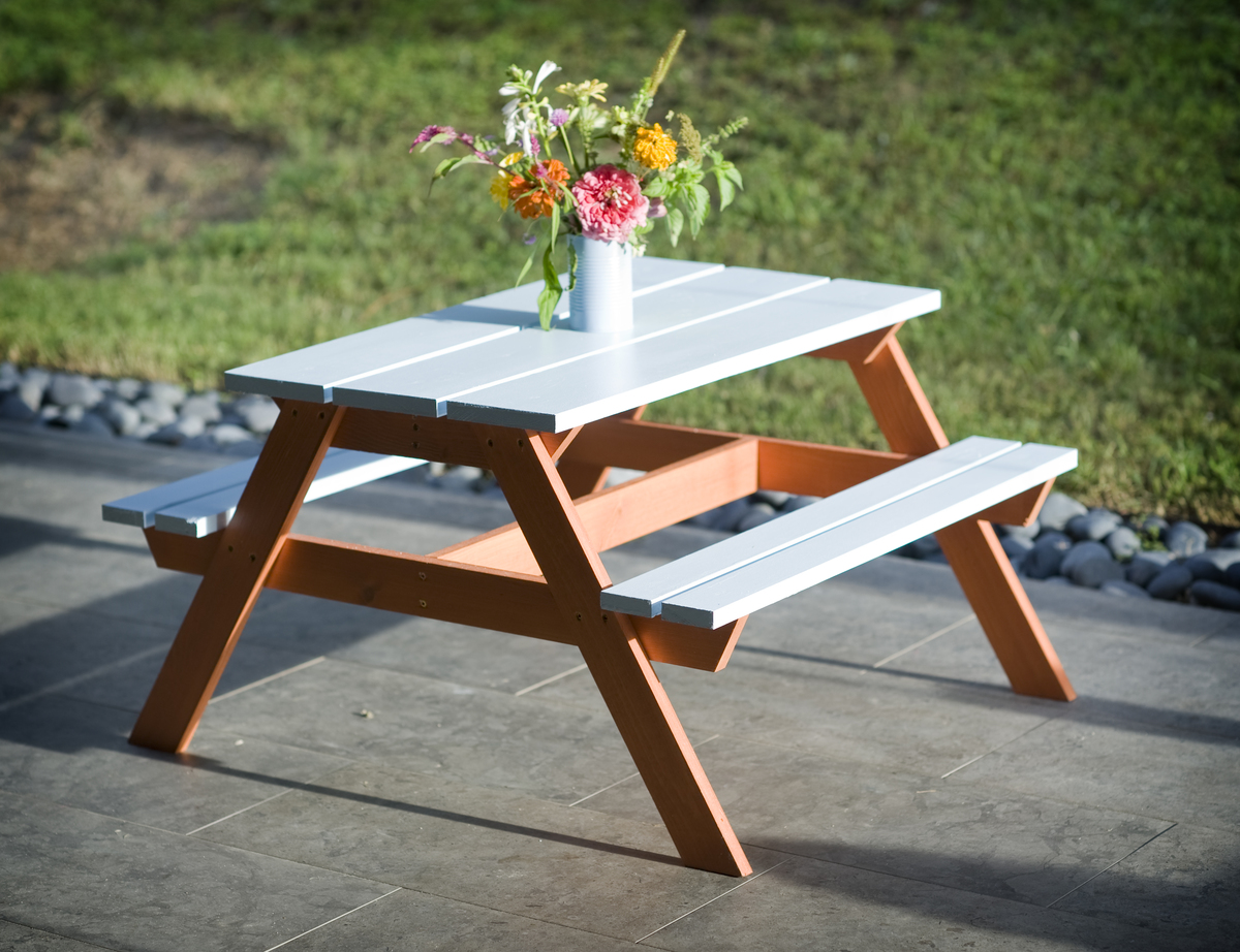 Ana White Toddler Picnic Table Diy Projects