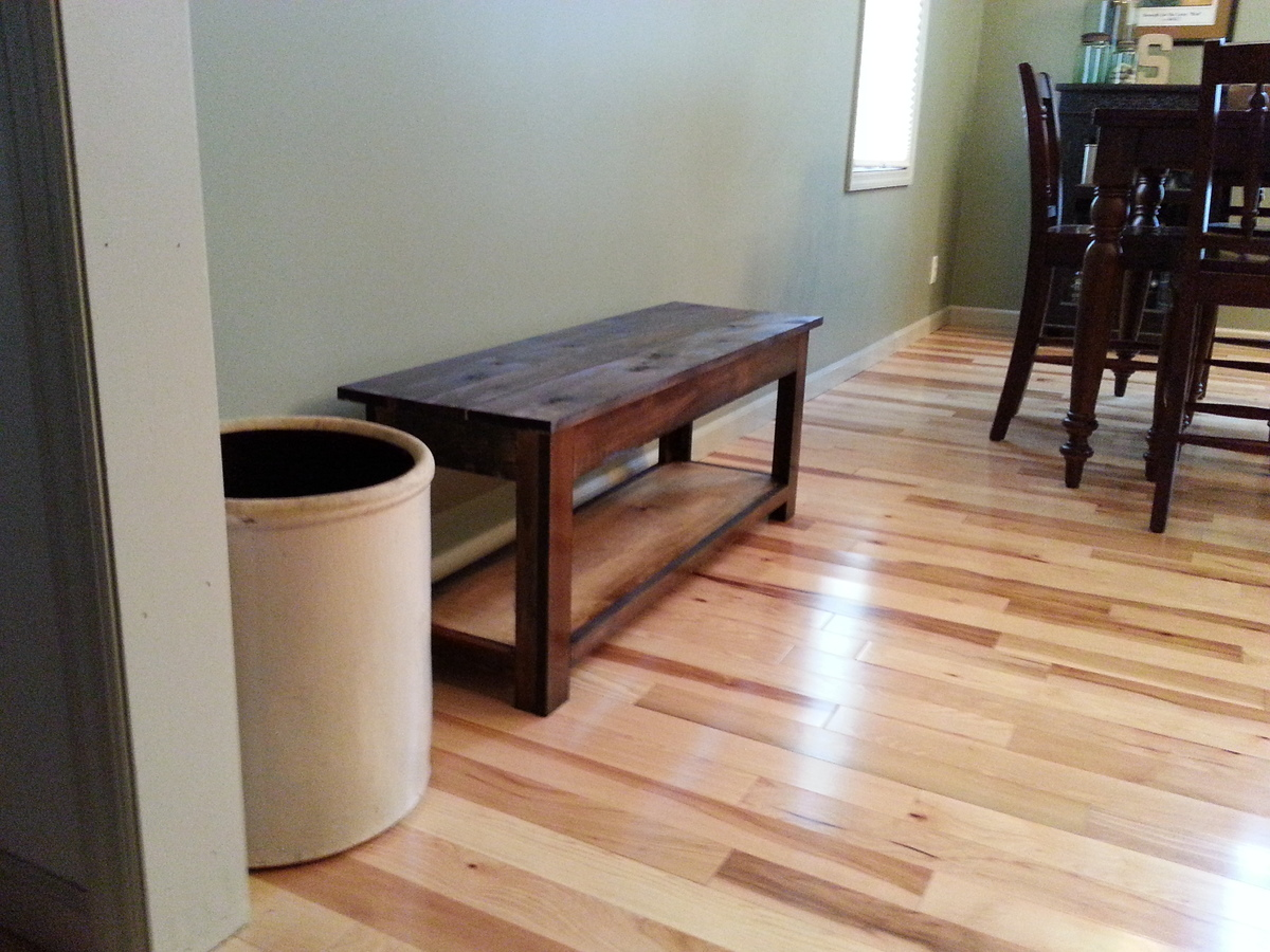 Ana White Simple Kitchen Bench Diy Projects