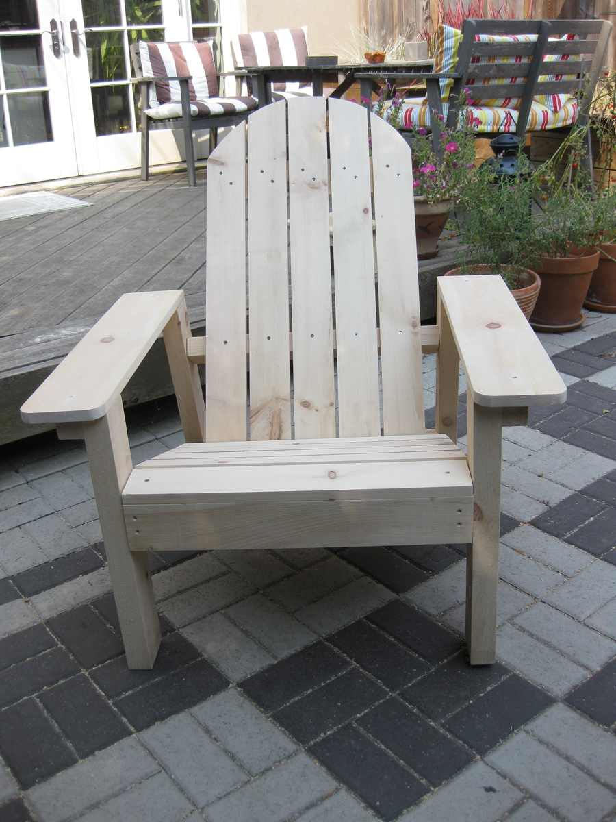 Ana White Adirondack Chair In Pine Diy Projects