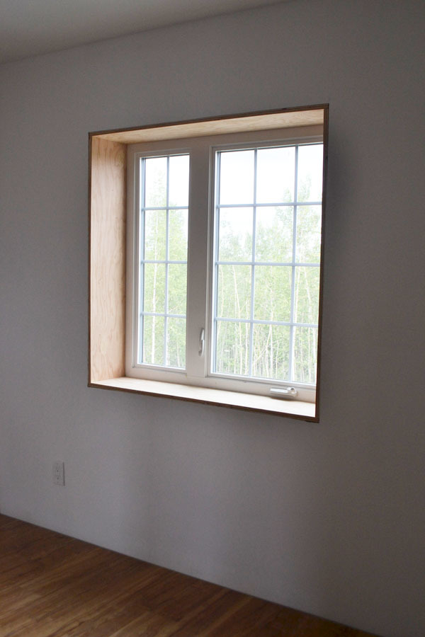 ana white easy window trim diy projects