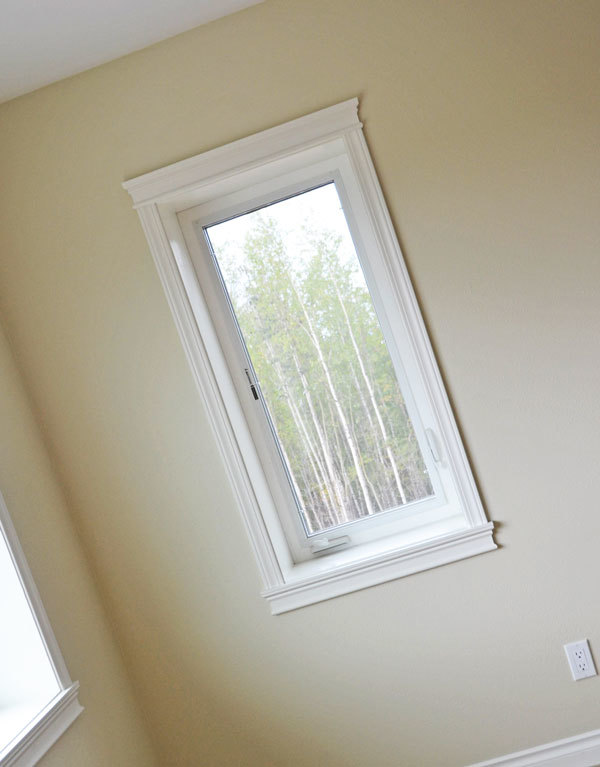 How To Trim Out Windows And Doors Without A Ton Of Cutting And Different  Moulding Pieces.