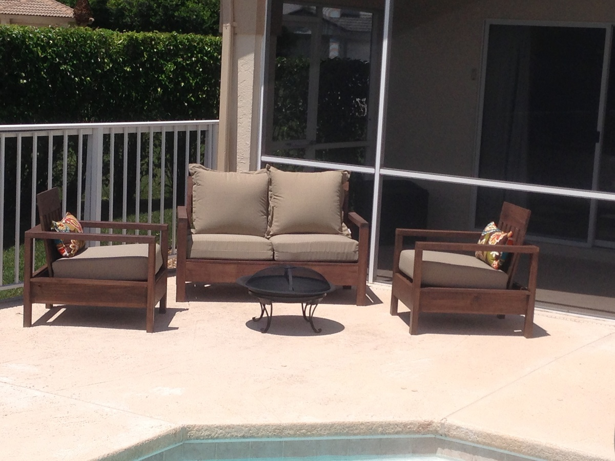 Peachy Cozy Outdoor Seating At Last Ana White Alphanode Cool Chair Designs And Ideas Alphanodeonline