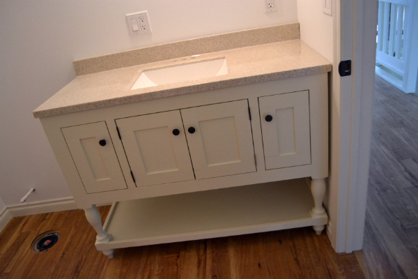 ana white vanity hutch with recessed lights diy projects