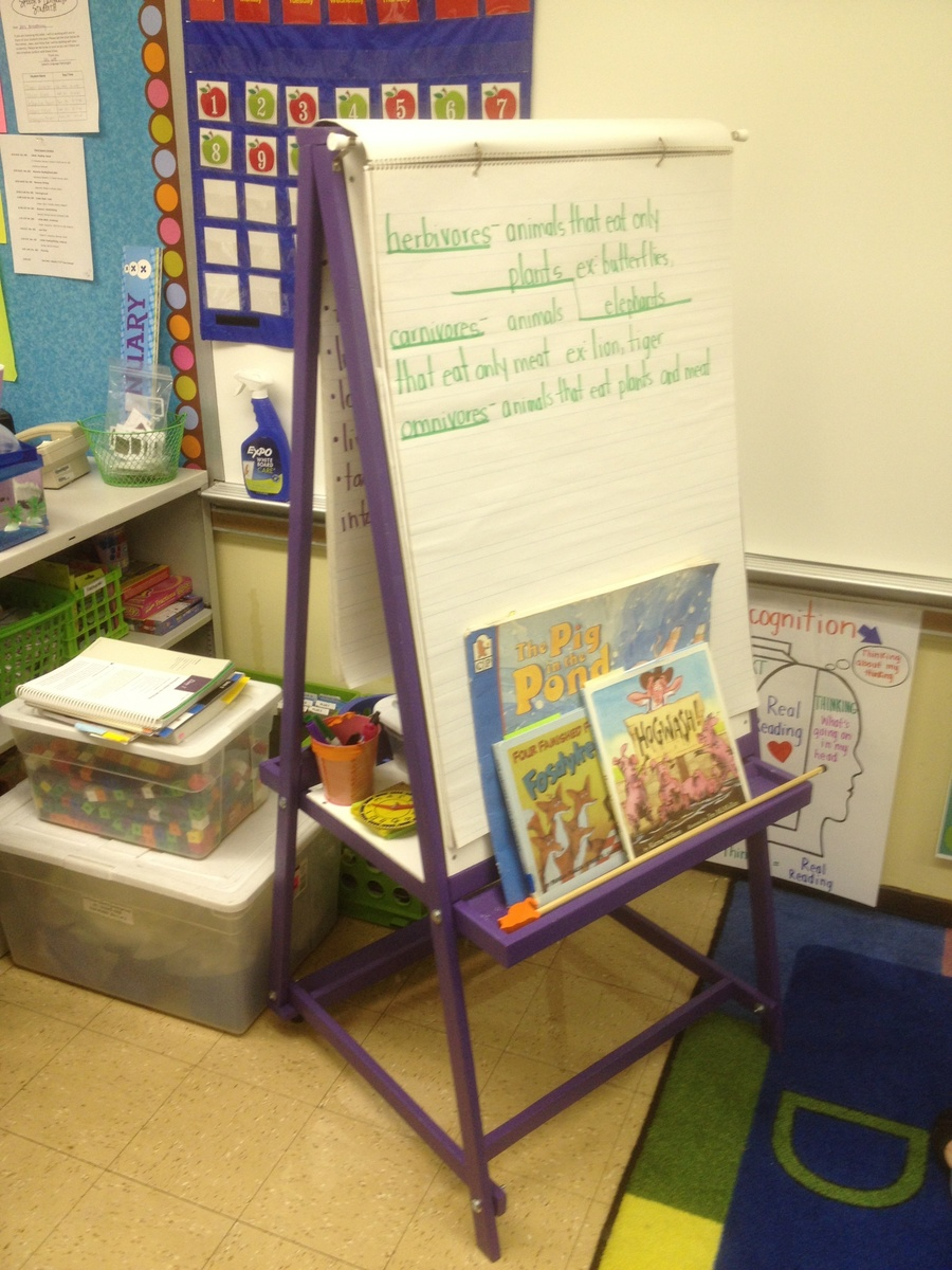 Ana White | Teaching Easel in the Classroom - DIY Projects