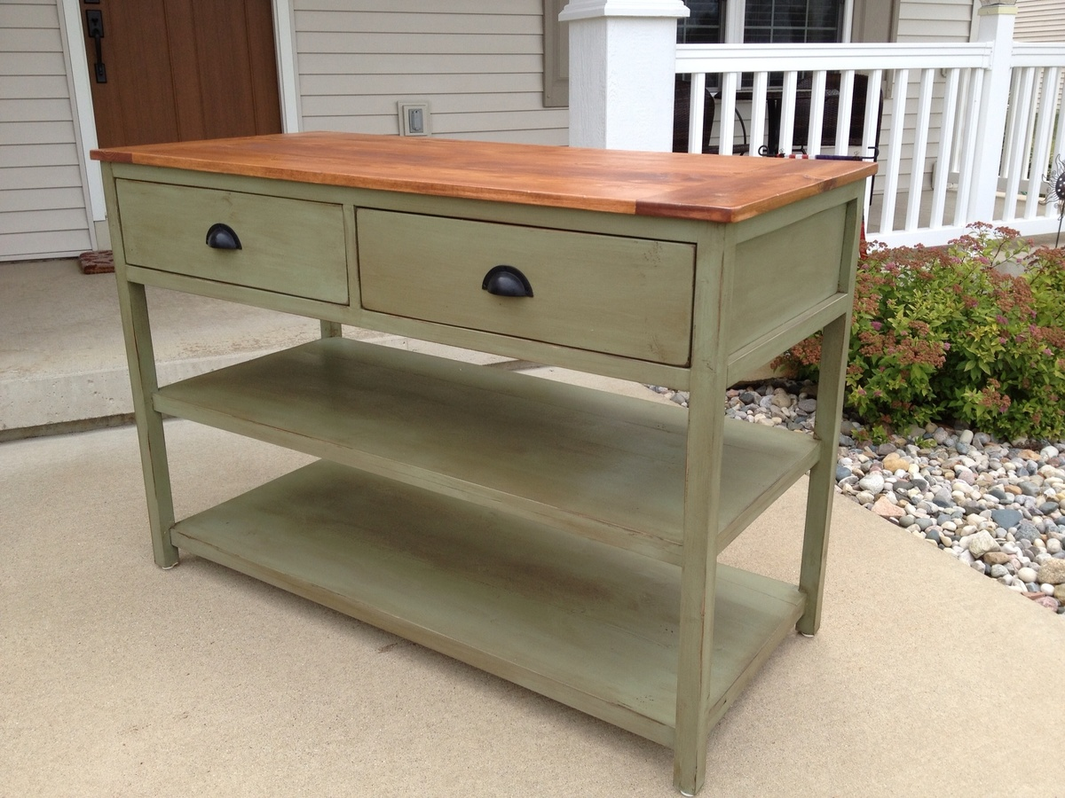 Console Table - DIY Projects