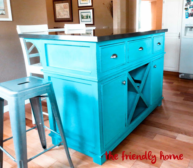 Shepard Kitchen Island - DIY Projects