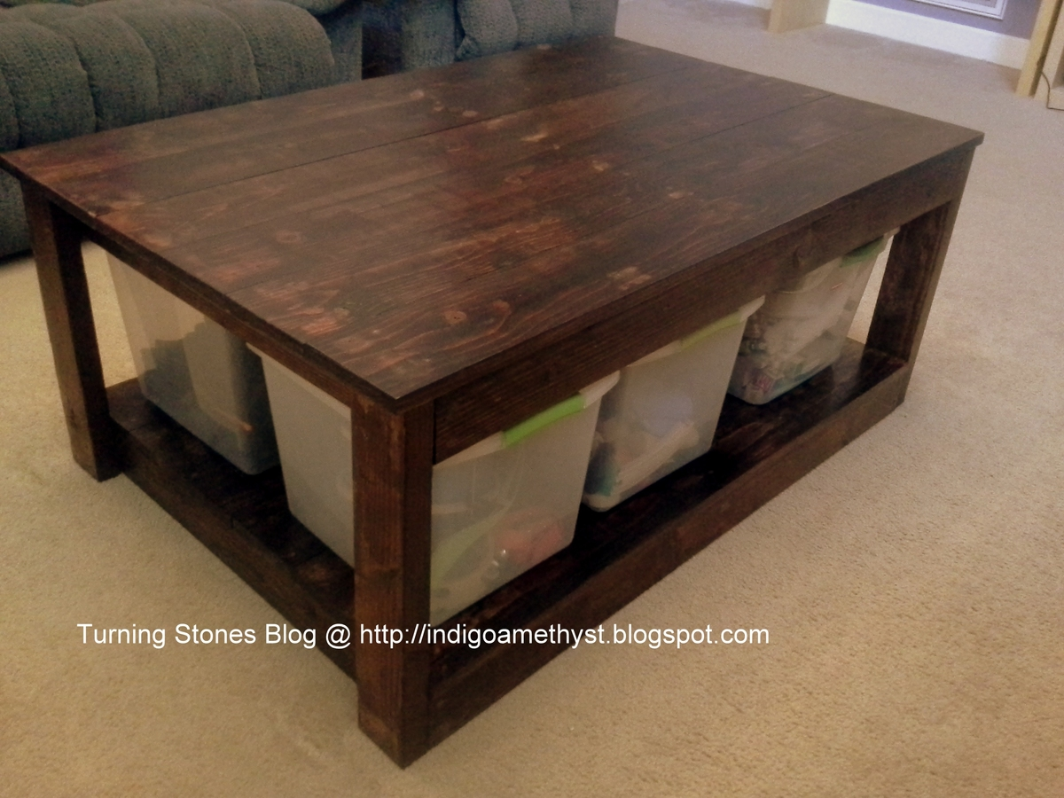Modified Adirondack Coffee Table