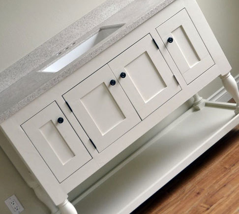 Easiest Way To Build Your Own Frame And Panel Cabinet Doors From Ana White Com