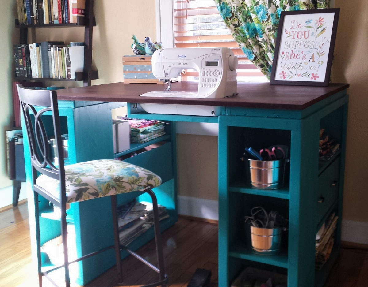 Ana White The Perfect Sewing Table Diy Projects