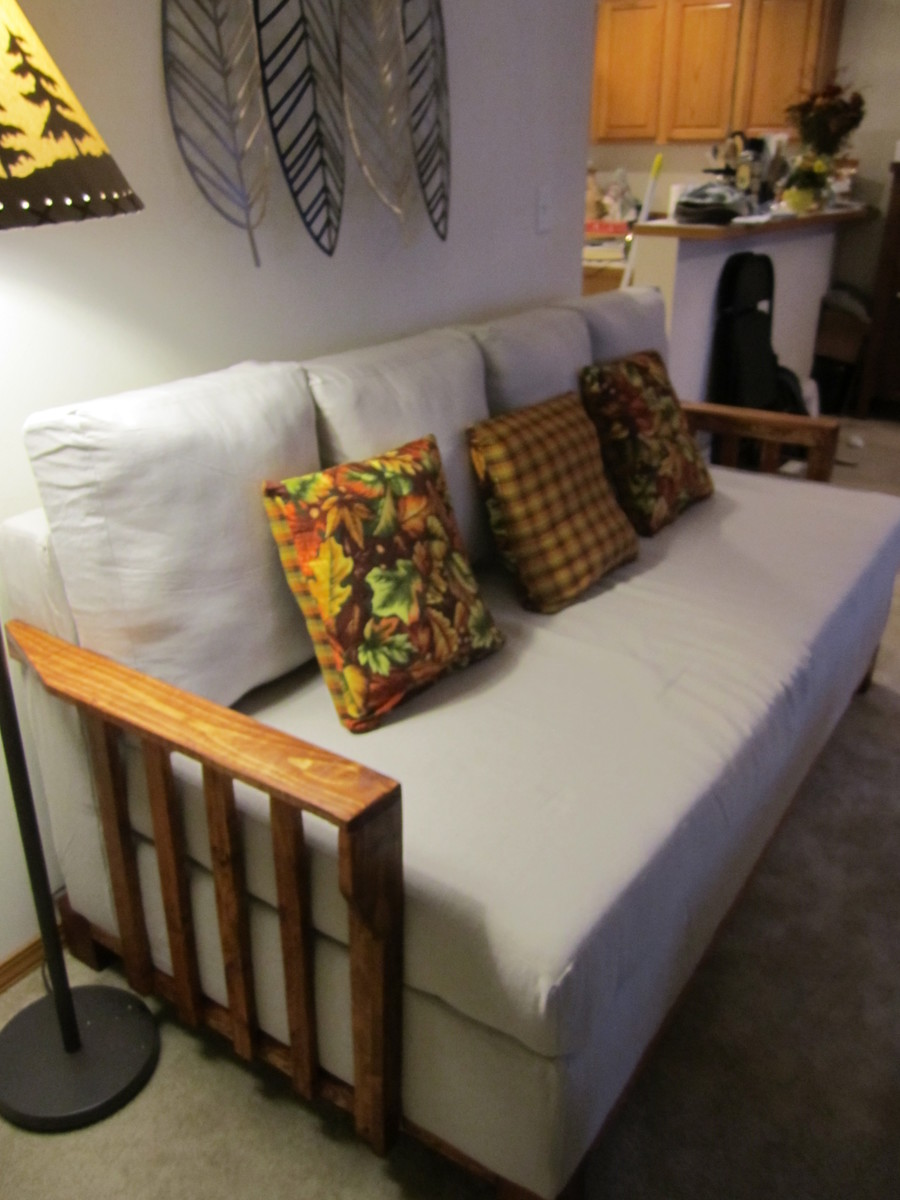 Ana White Storage Sofa With Armrests Diy Projects