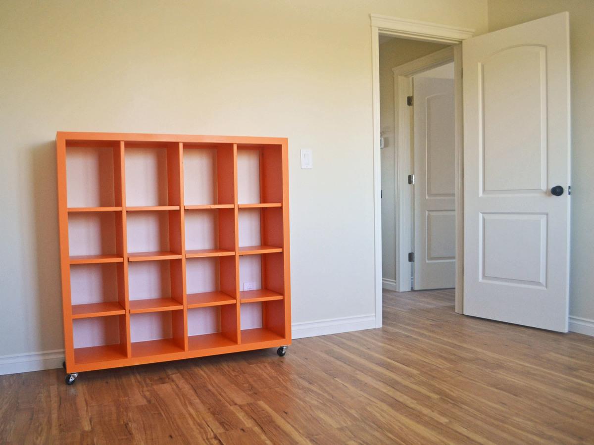 quality design efe57 e4521 4x4 Rolling Cube Shelf - Adjustable Shelves | Ana White