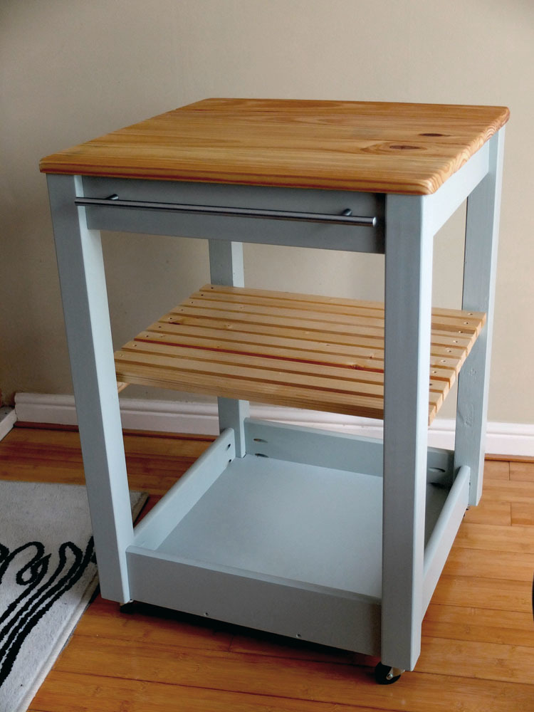 Ana White First Build Kitchen Trolley Diy Projects