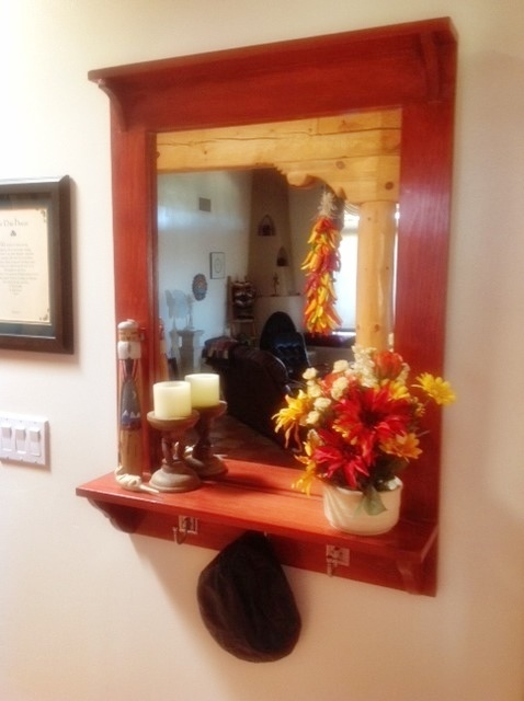 Ana White Entry Mirror From The Handbuilt Home Diy