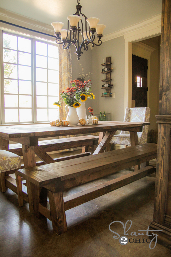 Pleasing 4X4 Truss Benches Ana White Gmtry Best Dining Table And Chair Ideas Images Gmtryco
