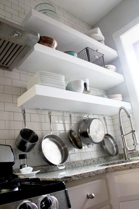 Ger Stronger Kitchen Floating Shelves