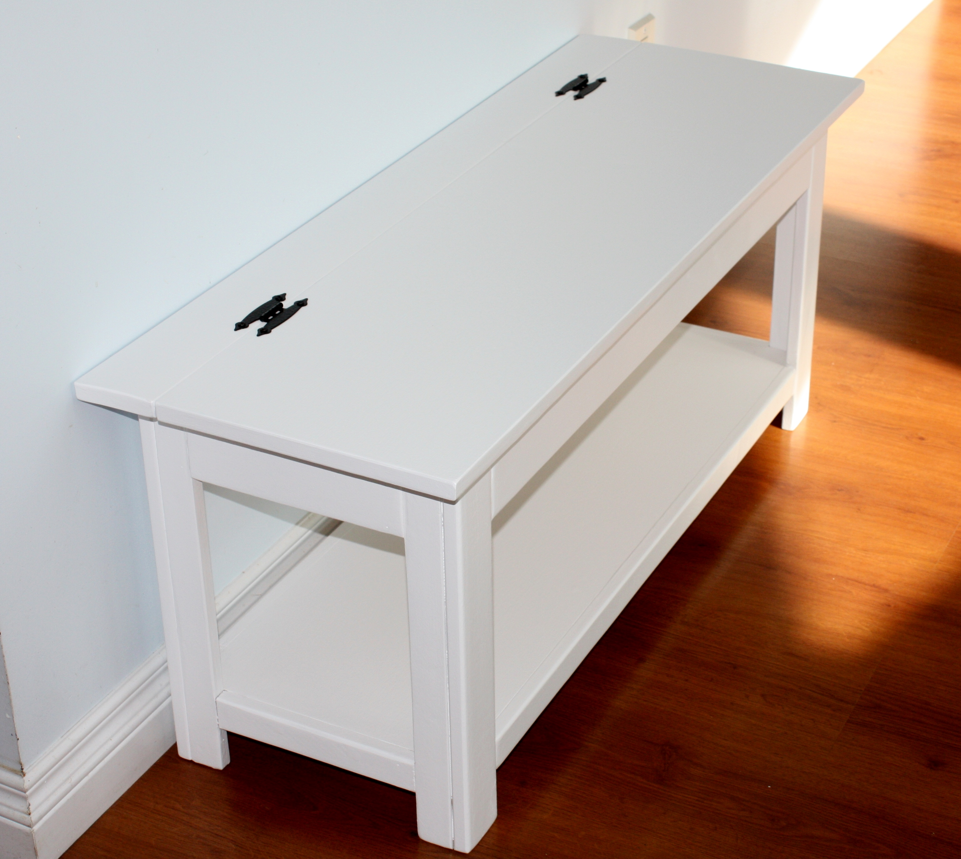 Ana White Flip Top Storage Bench Diy Projects