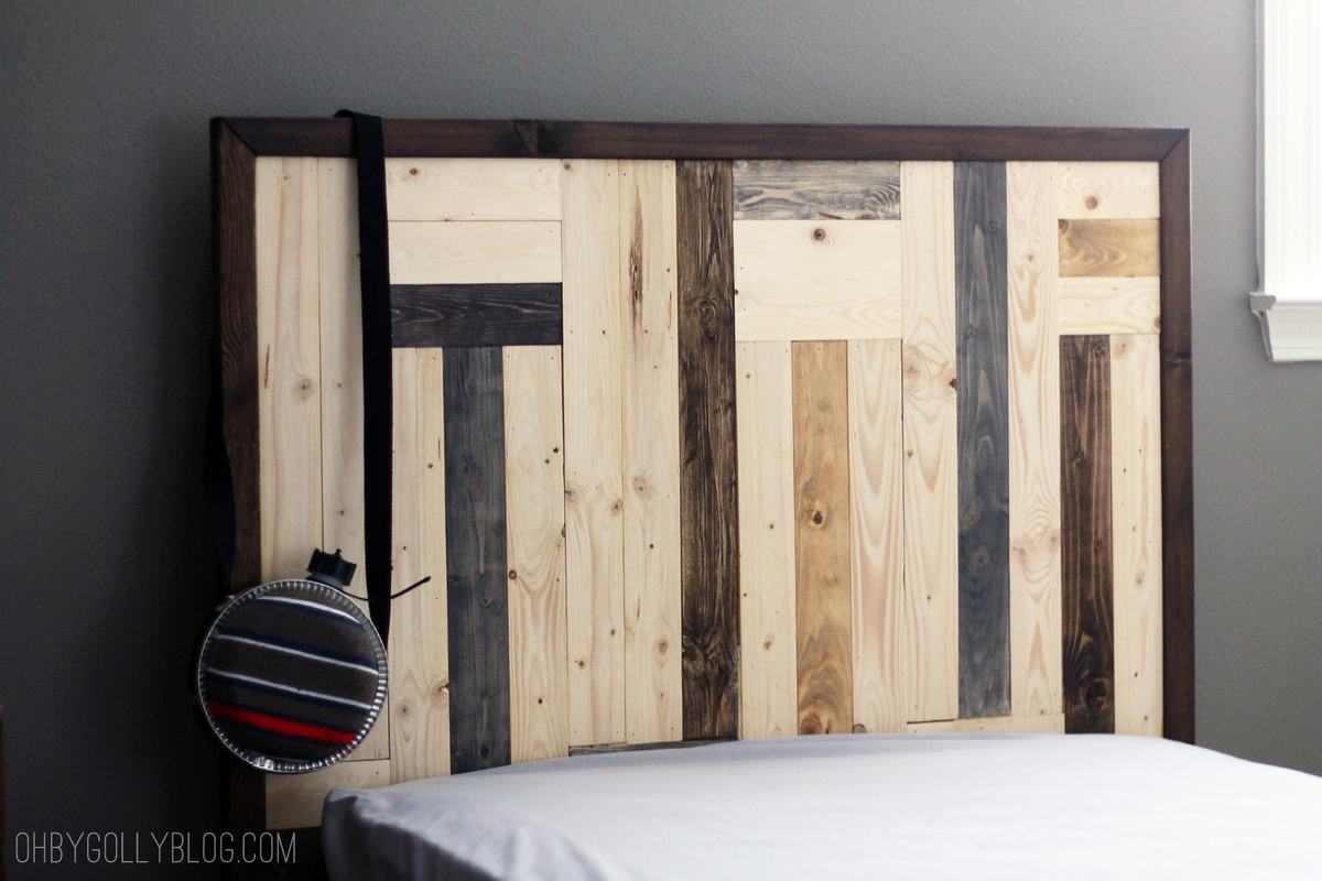 Ana White Custom Headboard And Filman Platform Bed Diy