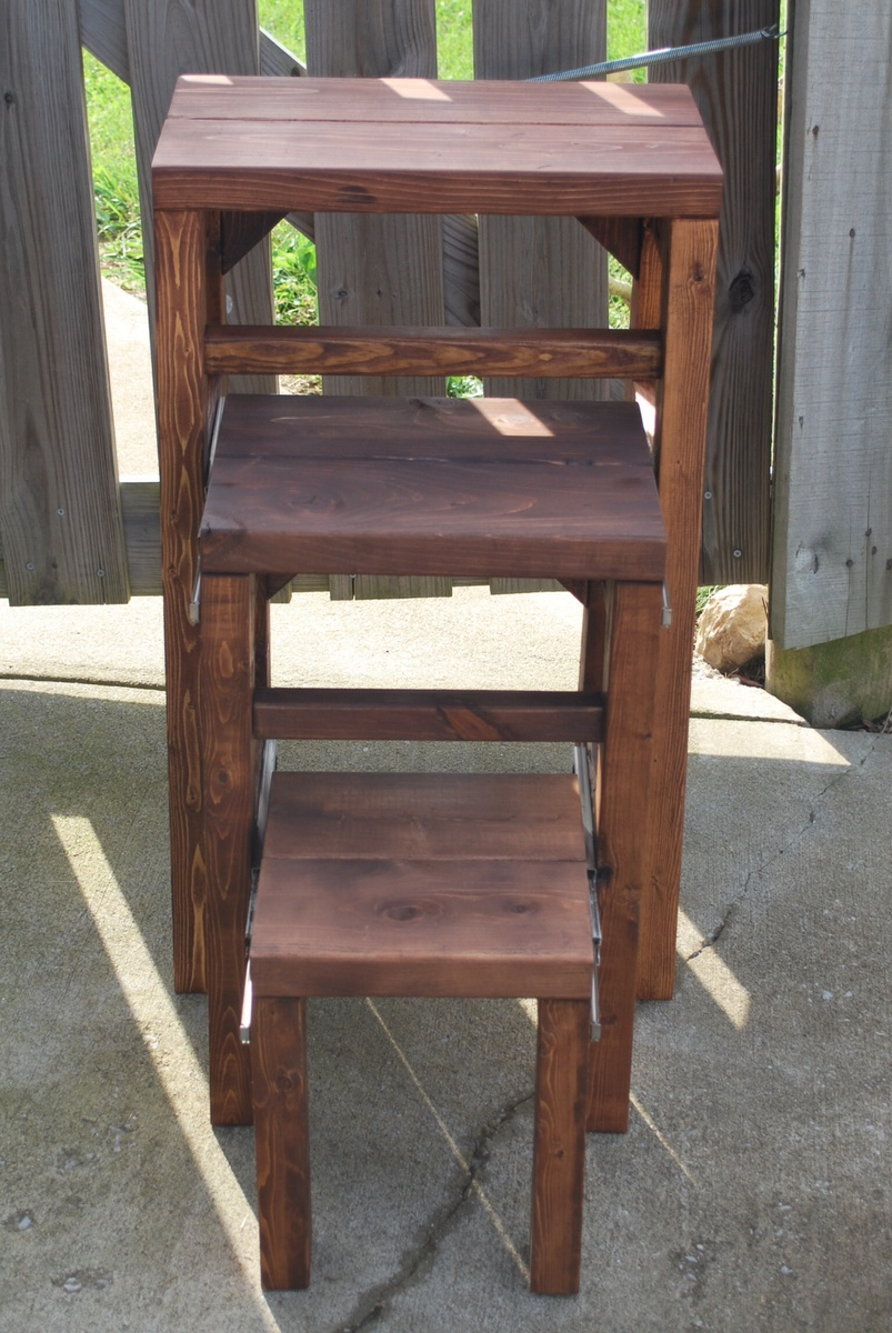 Ana White Pull Out Step Stool Diy Projects