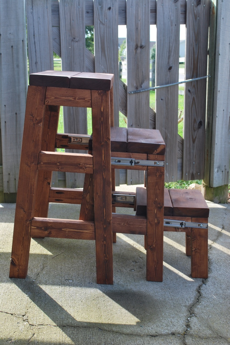 Pull Out Step Stool Ana White