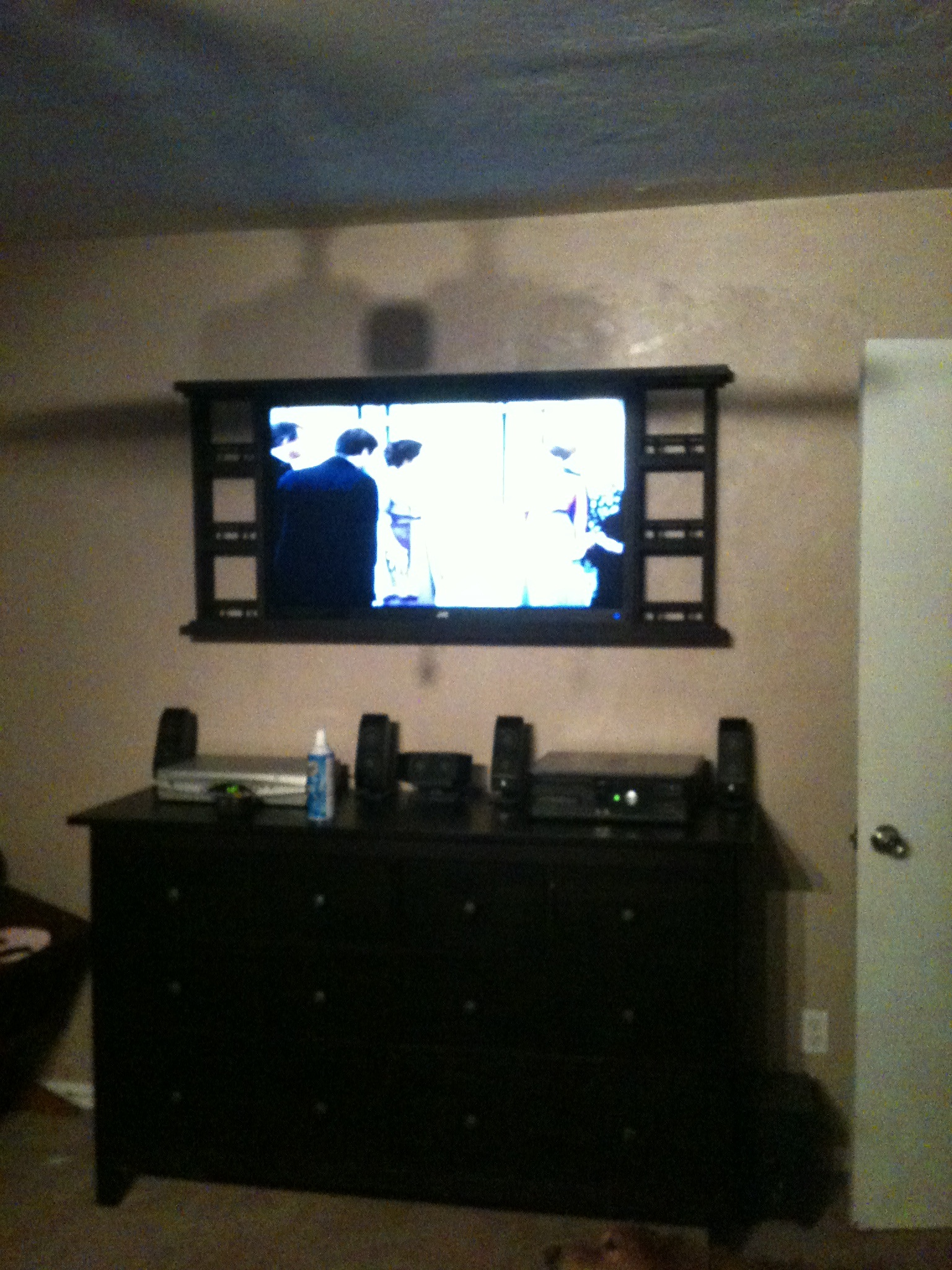 Country Style Wall Mount For Bedroom Tv Ana White