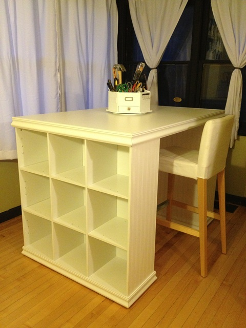 Ana White Kristi S Craft Desk Diy Projects