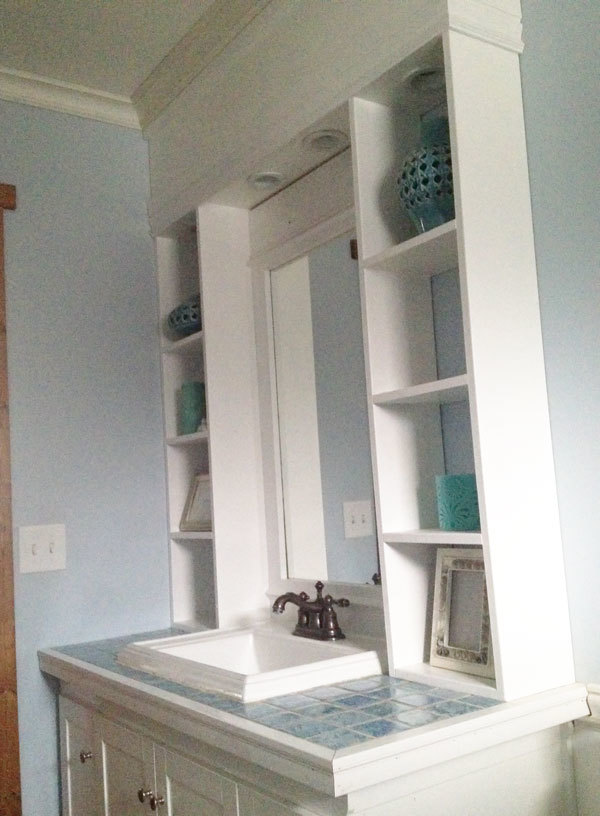 Vanity Hutch with Recessed Lights & Ana White | Vanity Hutch with Recessed Lights - DIY Projects