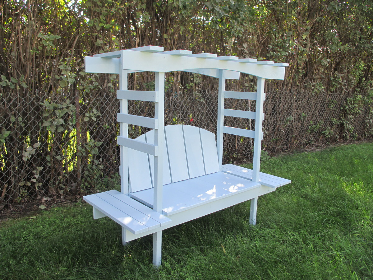 Children S Bench With Arbor Ana White