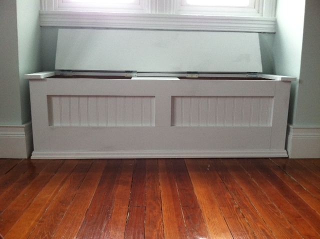 Ana White Momprojects Tackles Mimi S Storage Bench Diy
