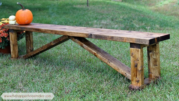 Ana White Happier Homemaker Bench Diy Projects