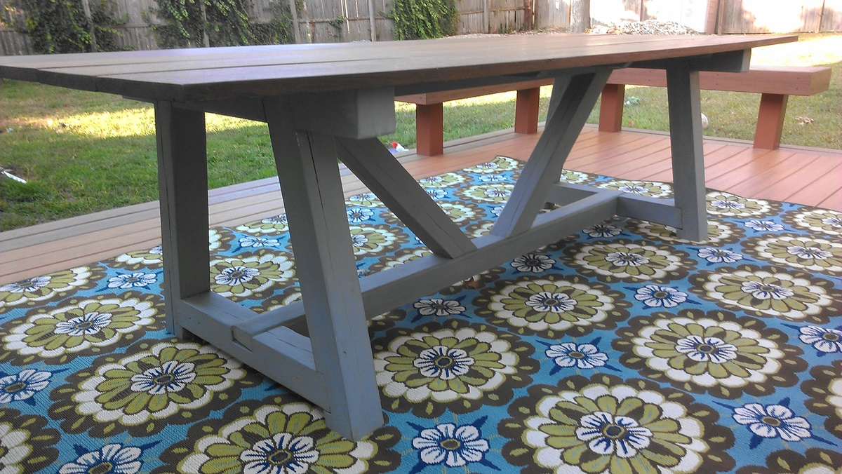 Outdoor Providence Table Ana White