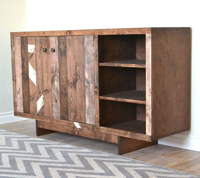 Plans To Build A Sideboard ~ Ana white emersen consle or buffet diy projects