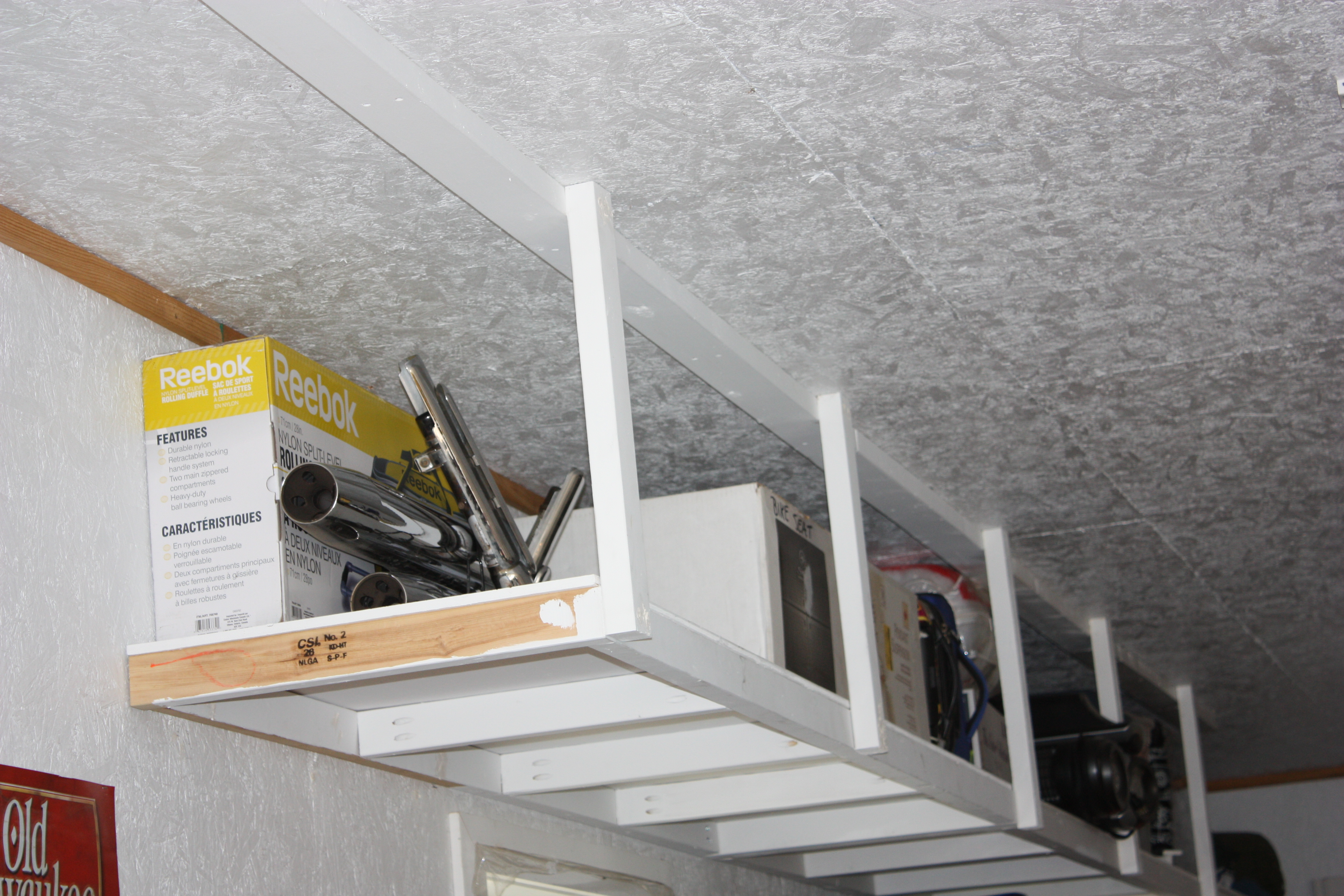 Ana White | Overhead Garage Storage - DIY Projects