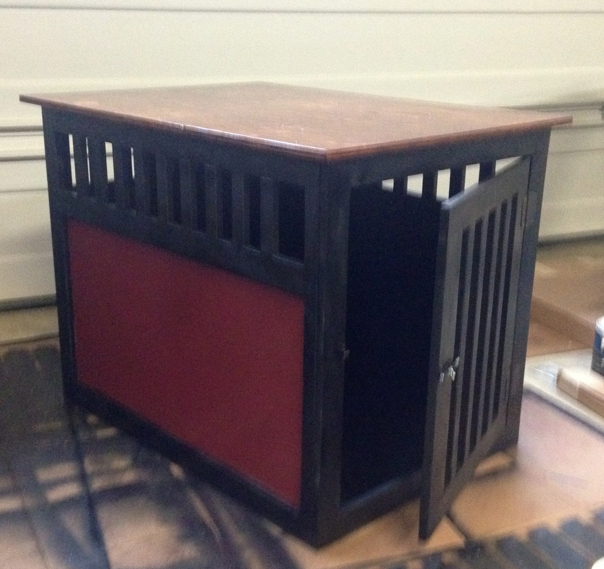 Wooden Crate Tv Stand
