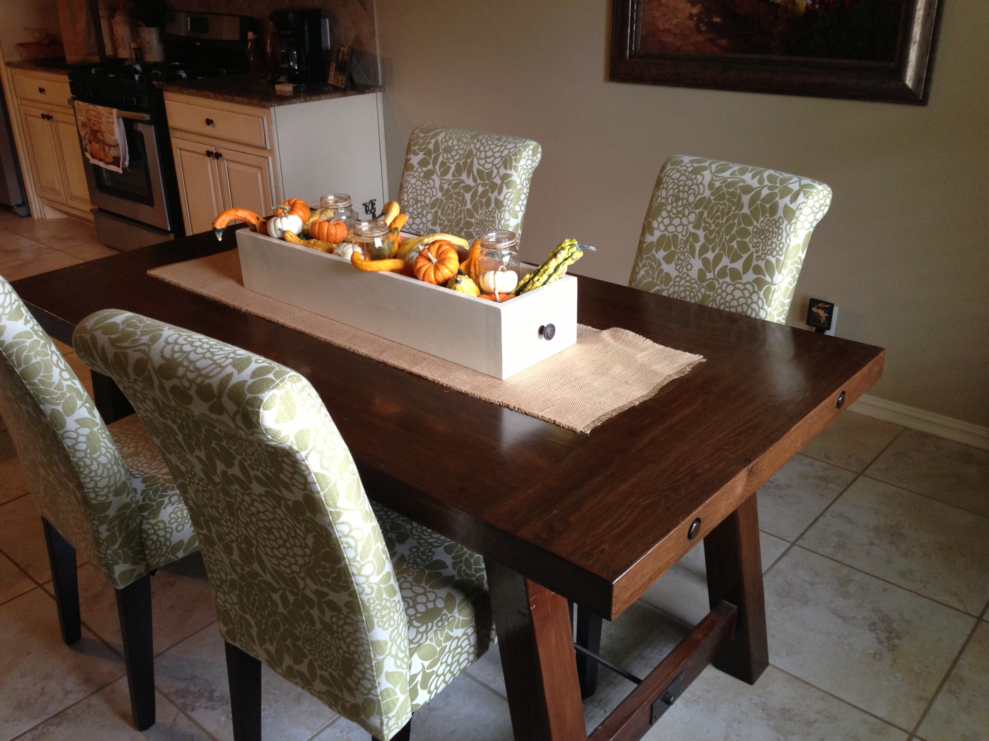 Ana White Pottery Barn Benchwright Farmhouse Dining Table Diy Projects
