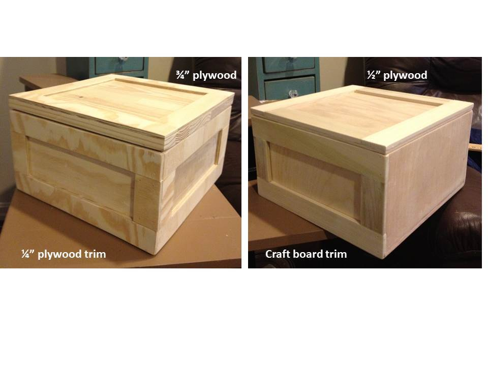 Plywood Gift Crate Man