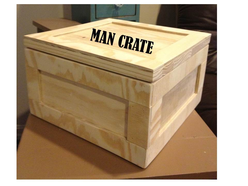 Ana White Gift Crate Aka Man Crate Diy Projects