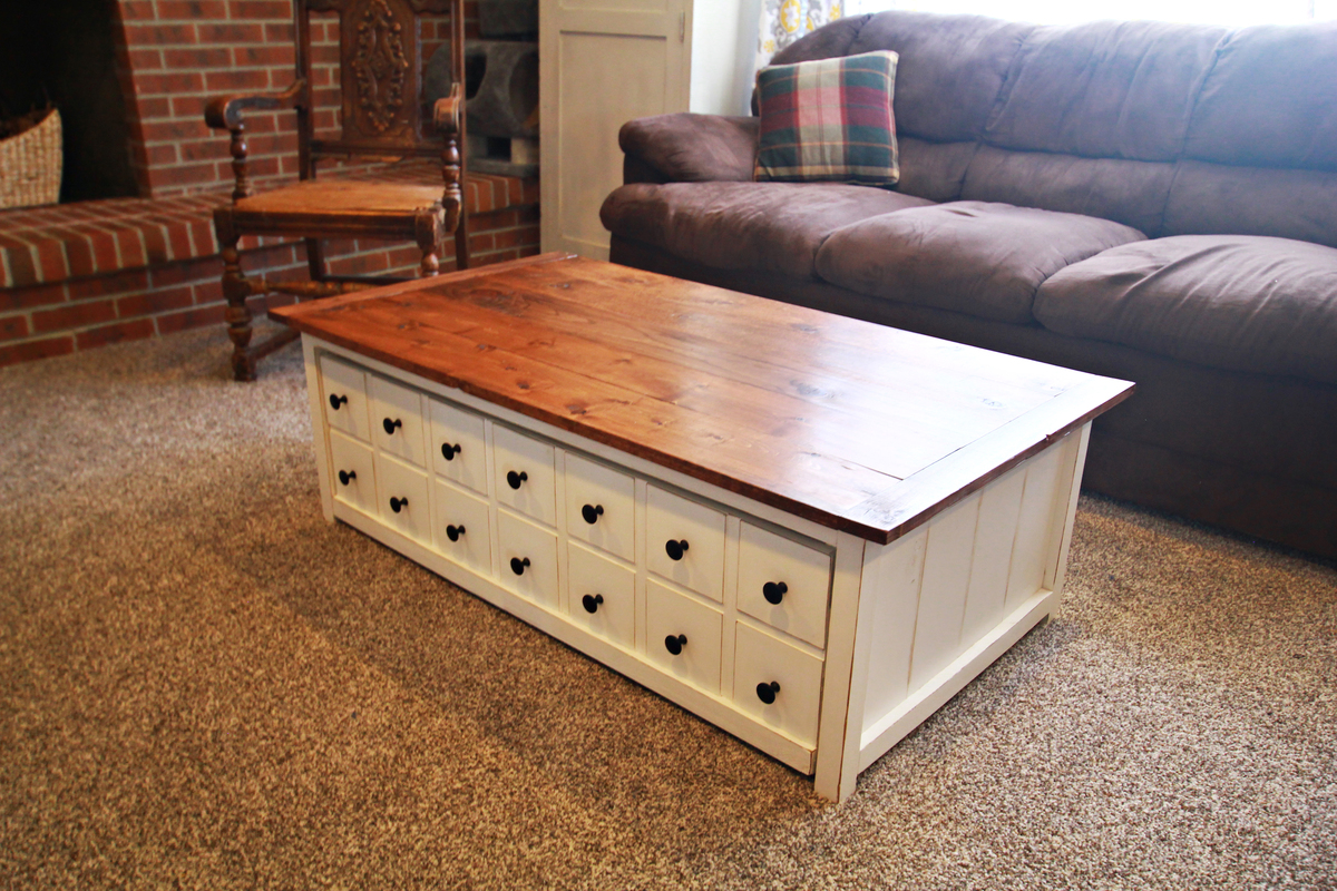 Ana White | Apothecary style coffee table - DIY Projects