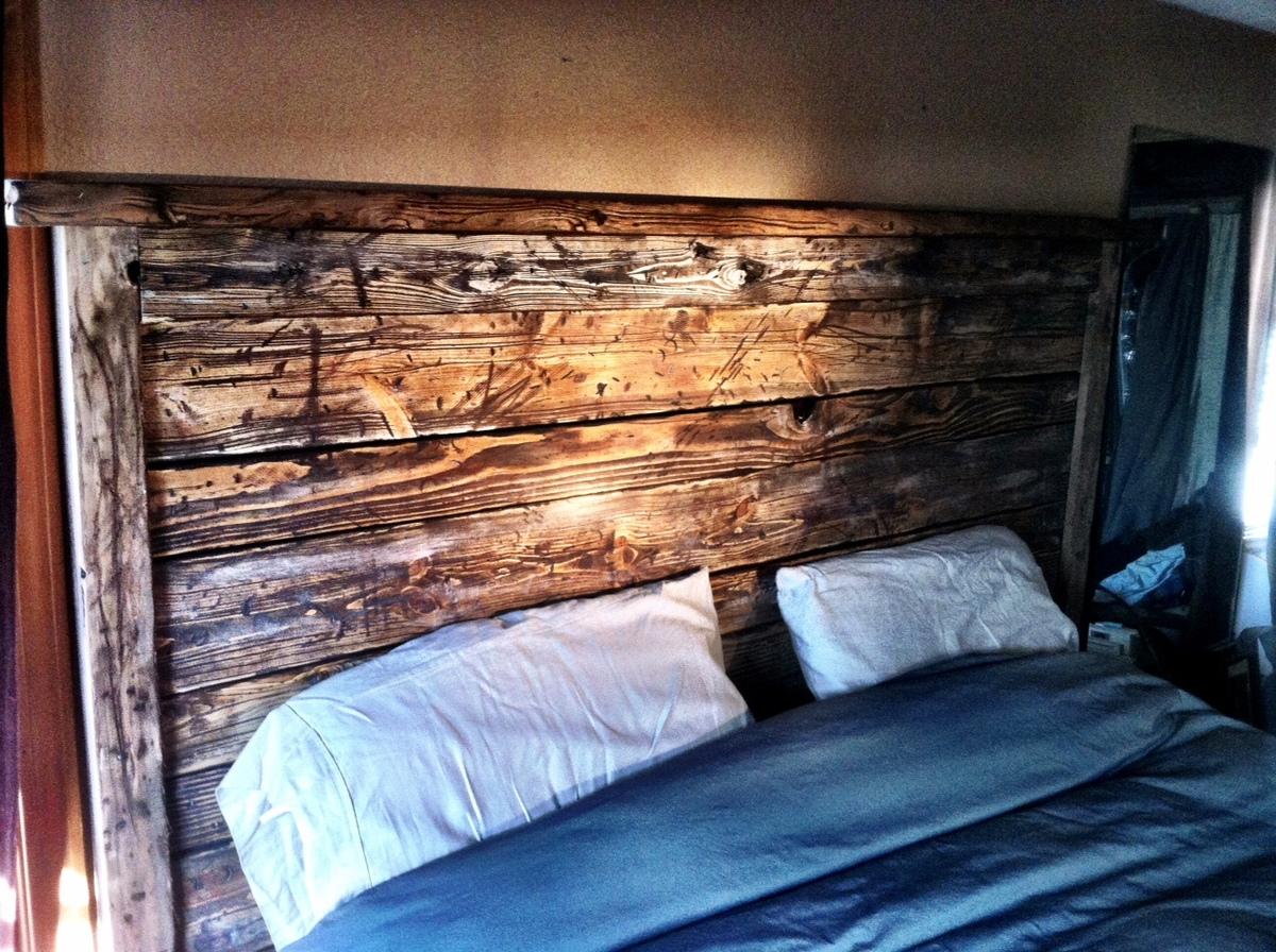Ana White Reclaimed Wood Bed Diy Projects