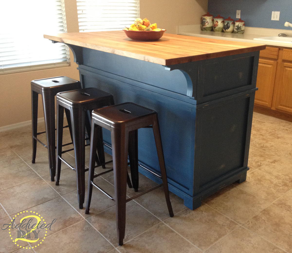 Diy kitchen island design plans - Diy Kitchen Island