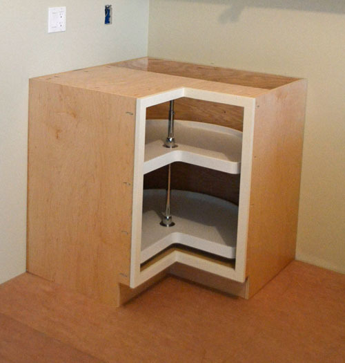 "Kitchen Furniture Corner: 36"" Corner Base Pie Cut Kitchen Cabinet"