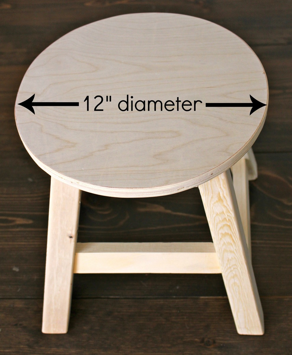 Diy vanity stool Luxury Additional Photos Ana White Ana White Kids Vanity Stool Slipcover Diy Projects