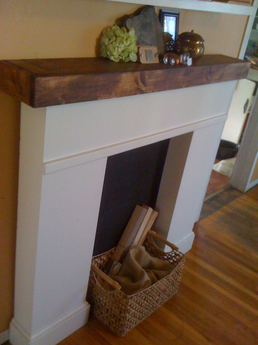 Ana White Simple Faux Fireplace Diy Projects