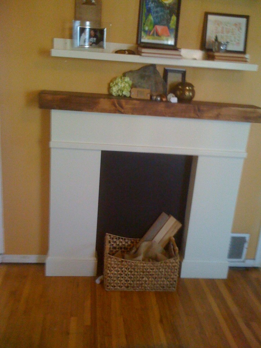 Faux Fireplace Decor Junsaus Faux Fireplace Diy ~ dact.us