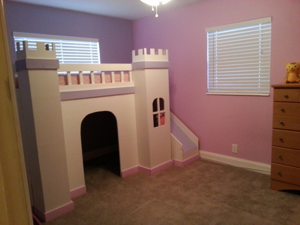 Ana White | Princess Castle Loft Bed - DIY Projects