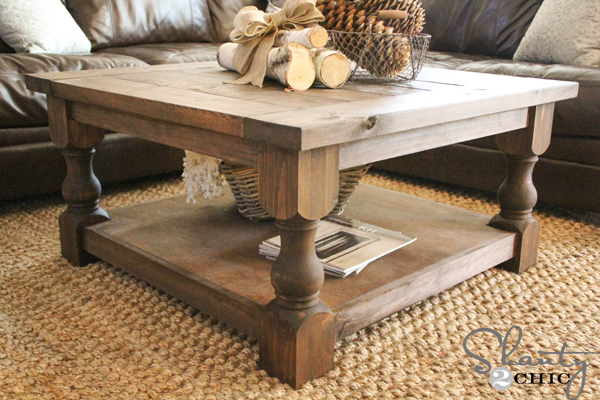 Ana white corona coffee table square diy projects watchthetrailerfo
