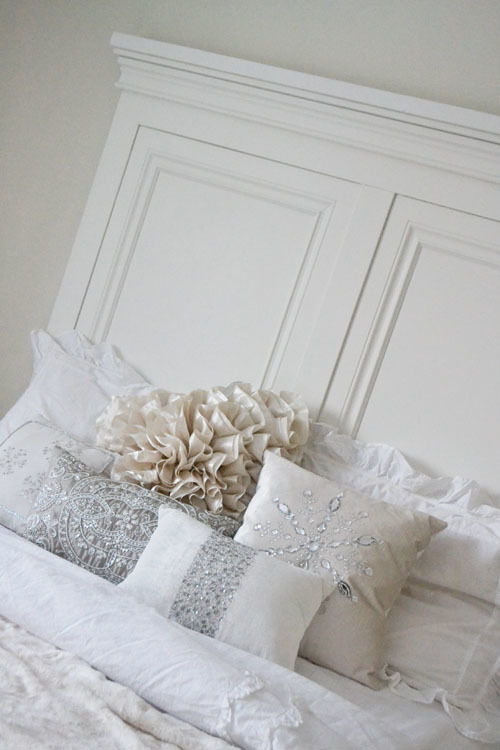 Top Ana White | Tall Panel Headboard - QUEEN - DIY Projects DK31