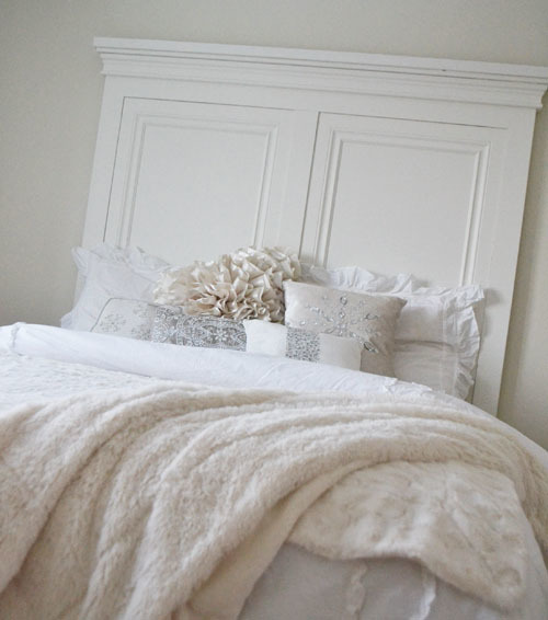 Tall Panel Headboard Using Baseboard Trim And Moulding No Routing Required Free Plans From Ana White